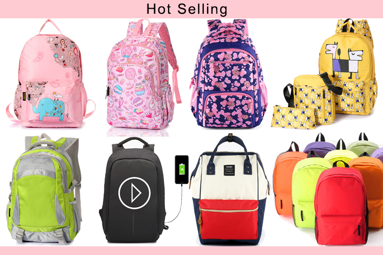 China mochila infantil wholesale custom cheap adult school book bag nylon outdoor lady waterproof fancy student college backpack