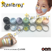 Restarry 7 colors Dead Sea colorful mud mask , New Hot masks, skin whitening, wrinkle remove