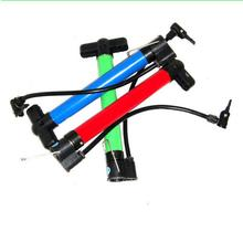 Hand air pump for bicycle tire / foot pump for bike and ball