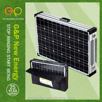 180w GP portable solar power system certificate by CE/CEC/TUV/ISO