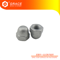 Carbon Steel Low Crown Acorn Nuts