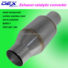 EURO 4 stainless steel metal honeycomb catalytic converter