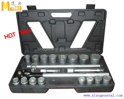 "3/4"" drive 21pcs Detachable mobile hardware tools set socket wrench bit set"