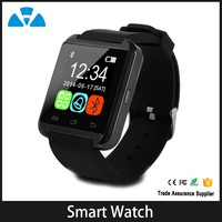 New design silicon watch bracelet smart watch bluetooth phone for girls