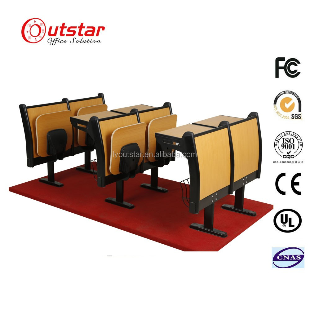 certificated University combo desk chair