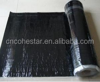 High Strength Cross Laminated Film Self-adhesive Rubber Roofing in Rolls