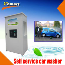 Auotmatic Coin/card operated self-service car wash machine/self-service steam commercial dry cleaning equipment