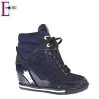 best price wholesale hidden wedge sneakers for women
