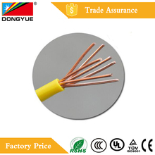Low Voltage BV/BVR Copper core PVC coated Insulation Flexible Power Wire