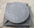 Anti-dumping free High quality Plastic manhole covers