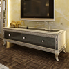 Luxury Italy Classic Three Door TV Cabinet/ Fancy Wood TV Stand With Chest Of Drawers Small TV Cabinet