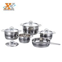 German Style Royal Stainless Steel Kitchen Dinnerware Casserole Set