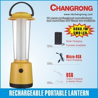 high power high quality rechargeable SMD LED camping lantern