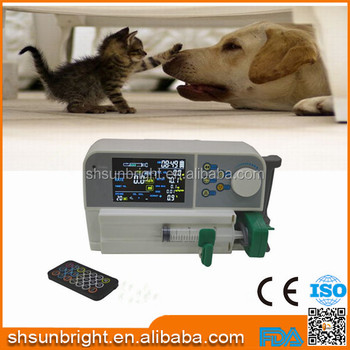 Veterinary Sun-500 syringe pump manufacturer with CE for ward nursing