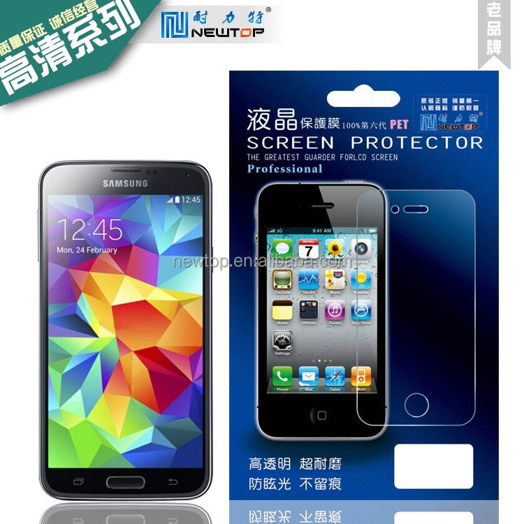 film blue high clear screen protector for iphone 6 screen protector