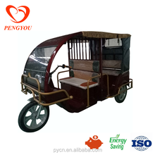 Hot Sale E Rickshaw for Passenger/ Electric Tricycle for Taxi