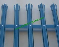 Best quatily top selling cold rolled palisade fencing