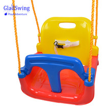 GladSwing SW139 Children 4 IN 1 Plastic Swing outdoor hanging baby swing seat