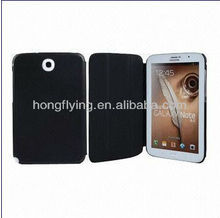 Genuine\PU Leather Cases for Samsung N5100, Slim/Cell Phone/Smart/Flip/Stand casesfor Samsung Galaxy Note 8.0/N5100, Black