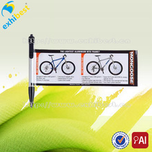 Hot selling cheap personalized printing banner ballpoint pen for sale