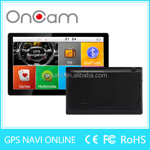 2016 big sale 7 inch auto gps navigator with romania map 716 factory bottom price