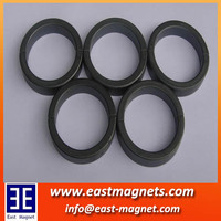 Customized Injection Bonded Ferrite Magnet for floating speaker/motor magnet application and ring shape electro permanent magnet