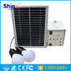 5W Portable mini Solar power home system with mobile charger