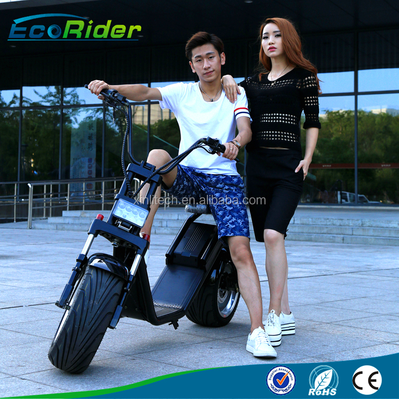 electric scooter battery power cool big two wheels scooter