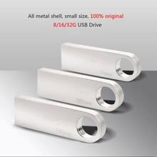 Hot Sale Customized 1G to 32G Mini Metal U Disk USB 2.0 Flash Memory Drive