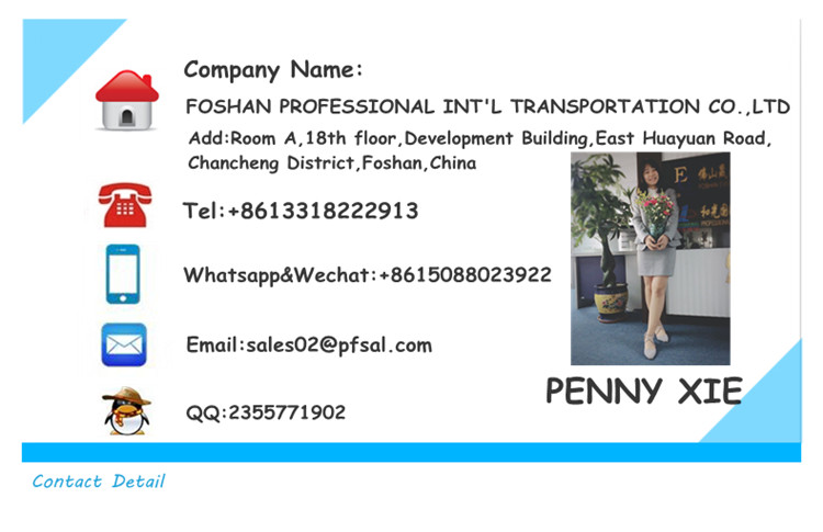 Freight forwarding to dubai /pakistan,shipping from Foshan/Guangzhou China
