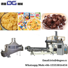 Frosted Nestle/Kelloggs Bulk Oats Cereal Corn Flakes Production line /breakfast cereal machinery