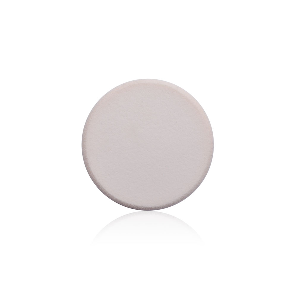 China Factory Solid White Latex Free Sponge Foundation Powder Puff