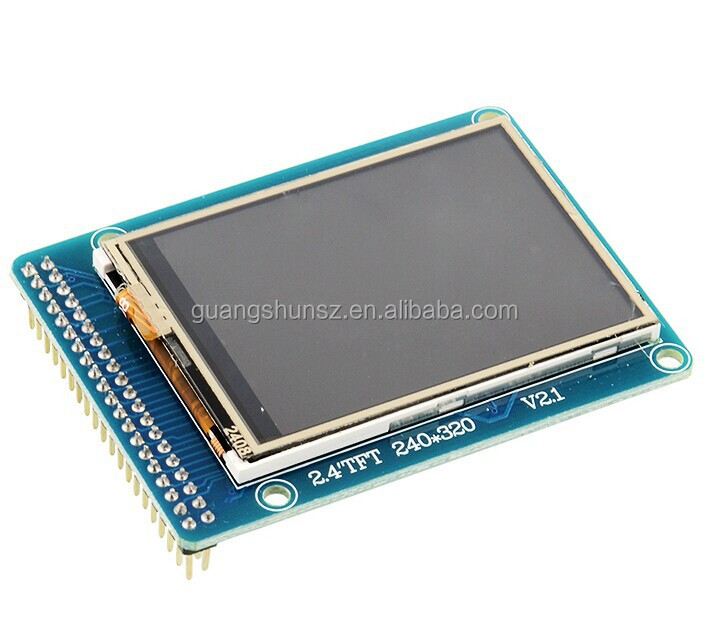 2.4 inch TFT LCD touch screen module 51 drivers touch IC with SD card socket Driver ILI9341