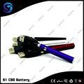 Hot CBD battery S1 pen style for Wax/Thc Slim E-cigarette Battery Vaping Vape