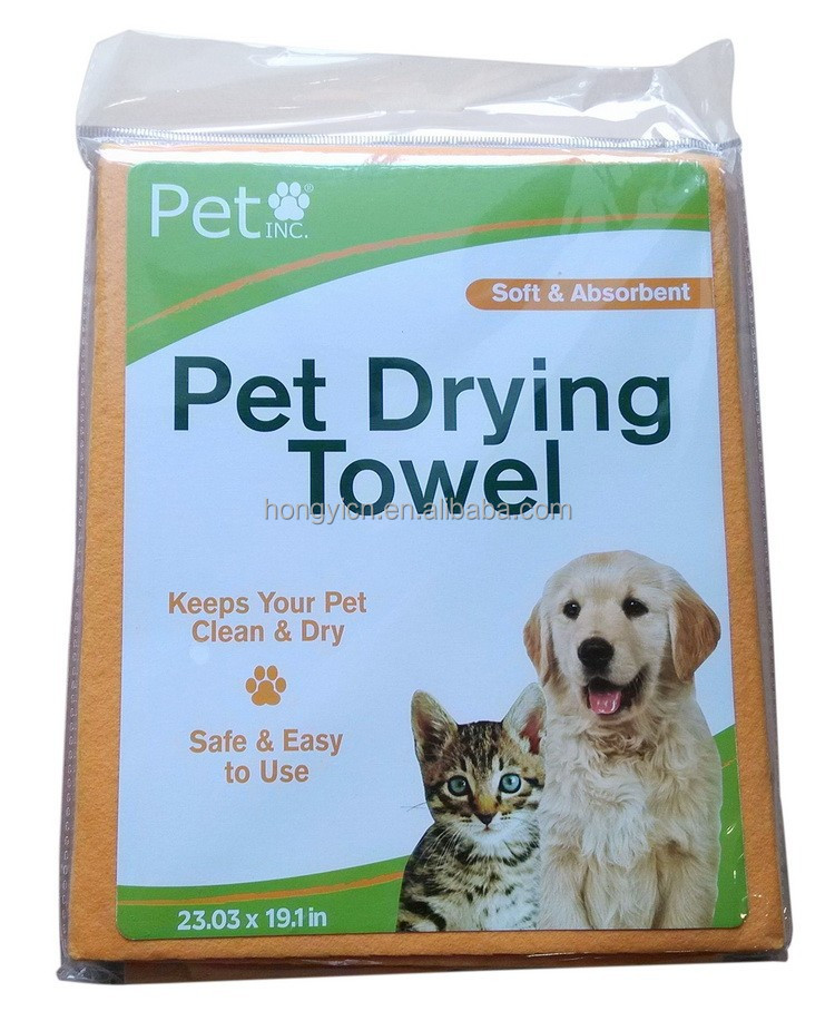 best selling nonwoven fabric pet towel,pet drying towel,dog towel