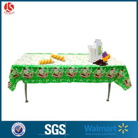 disposable & convenient plastic printed table cover