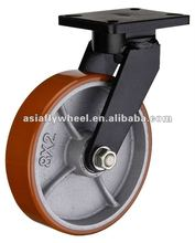 90 Super Heavy duty polyurethane swivel caster wheels heavy duty