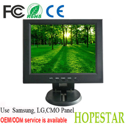 high brightness panel 10 inch HDMI/BNC/AV/VGA/USB LCD CCTV Monitor