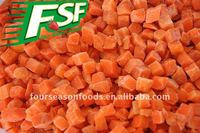 2016 crop IQF Carrot Dices