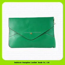 15614 Purse female purse ladies envelope clutch purse outside pocket