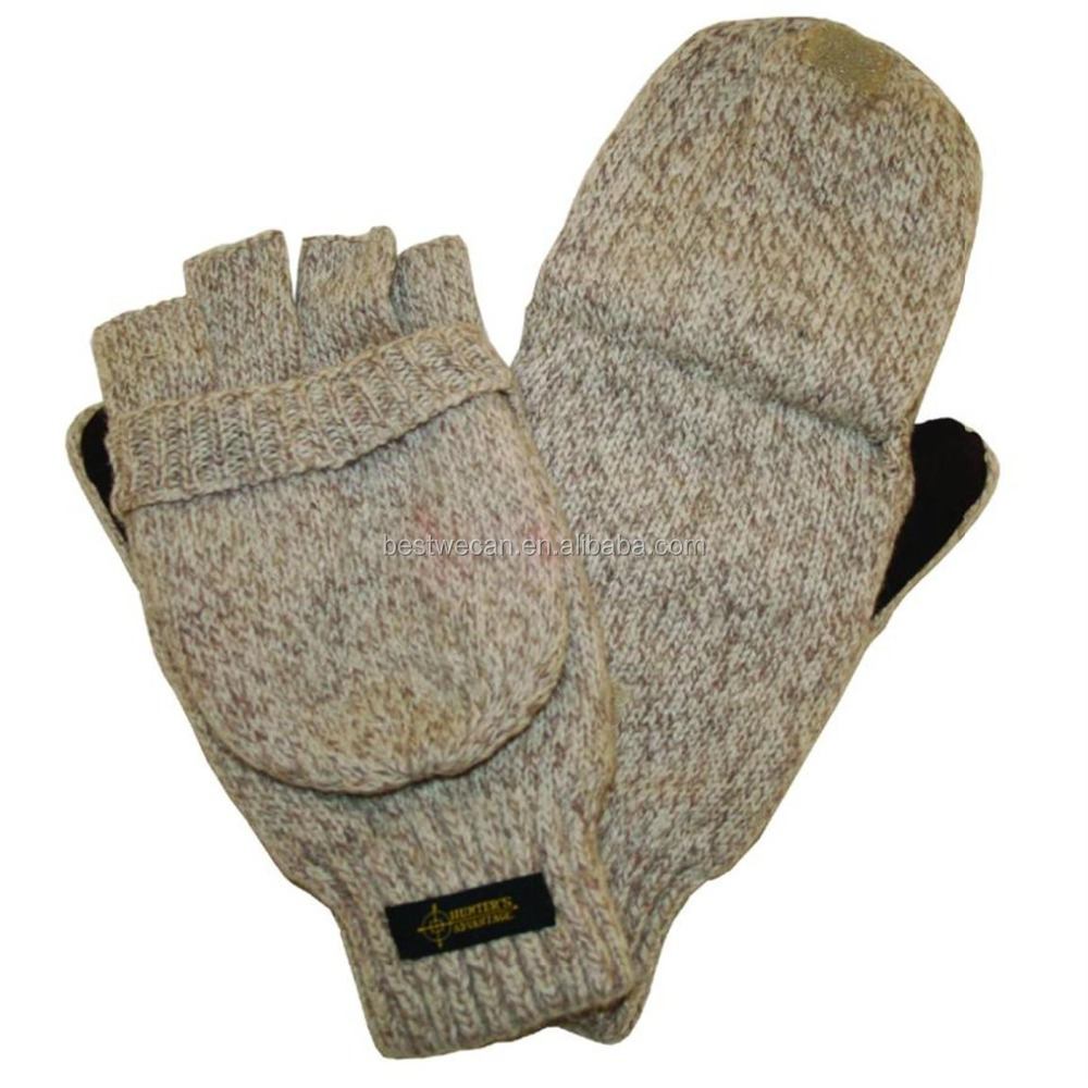 Winter Wool Mitt Cold Weather Gloves for low temperature work