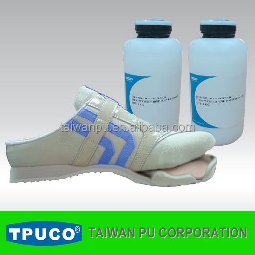 water based PUR polyurethane adhesive /glue for textile fabric, artificial leather