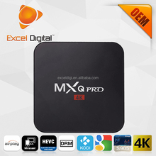 2016 new Amlogic S905 MXQ Pro TV box with android 5.1 1G RAM 8G ROM 5G WIFI 4K2K video supported Pyapal, MXQ Pro Android Box