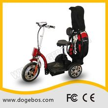 Ml-302 golf 3 wheels chargable 15 tube electric tricycle ce/rohs