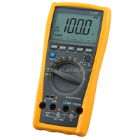 6000Count VC99 Auto Range Digital Multimeter With Thermometer Resistance AC DC Ohm Hz C Voltmeter