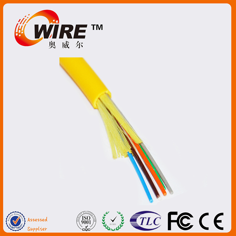 Manufacturer 6 Core Single Mode Fiber Optic Ftth G657 Kabel