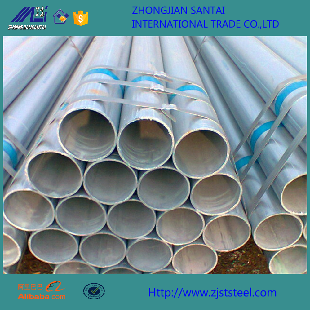 ASTM A36 hot rolled seamless galvanized steel pipe price list