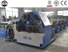 CE W24S-45 tube 3 roller profile bending machines