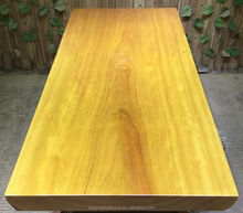 2016 Classic Africa Style with Scrap Side Solid Yellow Rosewood Dining Table Top For Home Use