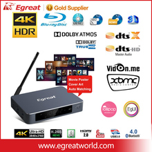 2017 Egreat A5 4K UHD HDD internet tv box android with poster cover art automatic matching